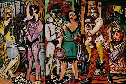 Max Beckmann Carnival Oil on canvas 1943